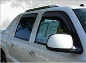Accessories - Wind Deflectors - AVS - Chevrolet Suburban AVS In-Channel Ventvisor Deflector - 4PC - 194355