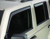 Accessories - Wind Deflectors - AVS - Jeep Patriot AVS In-Channel Ventvisor Deflector - 4PC - 194359