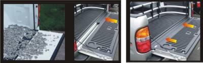 Suv Truck Accessories - Tail Gate Lock - Pilot - GMC Sierra Pilot Tailgate Gap Cover - GM - Kit - TR-101