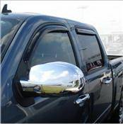 Accessories - Wind Deflectors - AVS - Chevrolet Avalanche AVS In-Channel Ventvisor Deflector - 194515