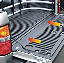 Suv Truck Accessories - Tail Gate Lock - Pilot - Ford F150 Pilot Tailgate Gap Cover - Kit - TR-201