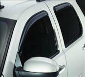 Accessories - Wind Deflectors - AVS - Mitsubishi Outlander AVS In-Channel Ventvisor Deflector - 4PC - 194555