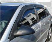 Accessories - Wind Deflectors - AVS - Chevrolet Malibu AVS In-Channel Ventvisor Deflector - 194621