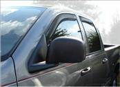 Accessories - Wind Deflectors - AVS - Dodge Ram AVS In-Channel Ventvisor Deflector - 4PC - 194623
