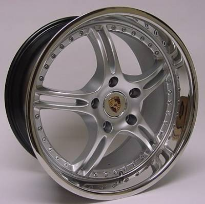 OE - 19 Inch Silver with Chrome lip - 4 Wheel Set