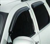 Accessories - Wind Deflectors - AVS - Honda Fit AVS In-Channel Ventvisor Deflector - 194743