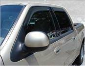 Accessories - Wind Deflectors - AVS - Ford F150 AVS In-Channel Ventvisor Deflector - 4PC - 194949