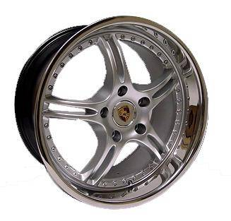 Wheels - Porsche Wheels - OE - 20 inch Silver Chrome - 4 Wheel Set