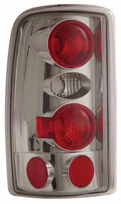 Headlights & Tail Lights - Tail Lights - Anzo - Chevrolet Suburban Anzo Taillights - Chrome - 211008