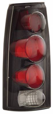 Headlights & Tail Lights - Tail Lights - Anzo - Chevrolet Tahoe Anzo Taillights - 3D Style - Carbon - 211018