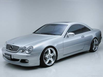Wald - Mercedes CL C215 Aero Kit