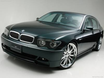 7 Series - Body Kits - Wald - BMW 7 Series E65 Complete Aero Kit