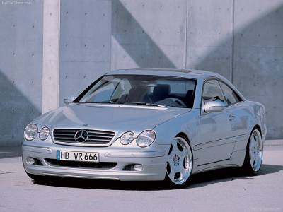 Wald - Mercedes CL Class W125 Complete Aero Kit