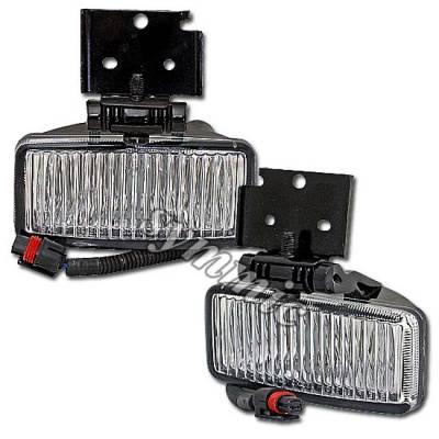 Headlights & Tail Lights - Fog Lights - Custom - Fog Lights 1996