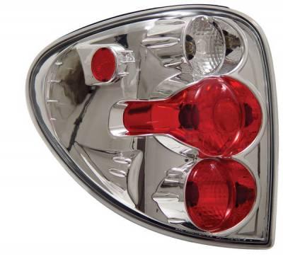 Headlights & Tail Lights - Tail Lights - Anzo - Dodge Caravan Anzo Taillights - Chrome - 211035