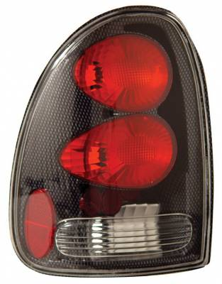 Headlights & Tail Lights - Tail Lights - Anzo - Dodge Durango Anzo Taillights - Carbon - 211038