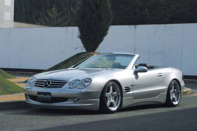 SL - Body Kits - Wald - Mercedes SL R230 Aerodynamics by Wald