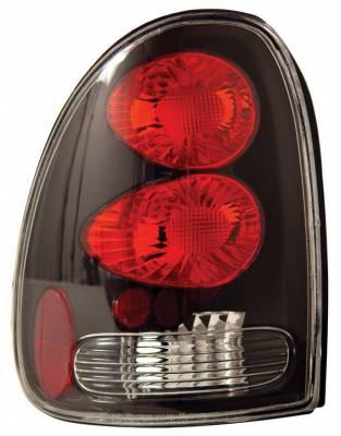 Headlights & Tail Lights - Tail Lights - Anzo - Dodge Caravan Anzo Taillights - Black - 211039