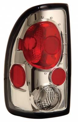 Headlights & Tail Lights - Tail Lights - Anzo - Dodge Dakota Anzo Taillights - Chrome - 211040