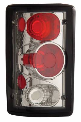 Headlights & Tail Lights - Tail Lights - Anzo - Ford Excursion Anzo Taillights - Chrome - 211049