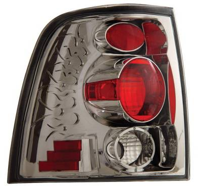 Headlights & Tail Lights - Tail Lights - Anzo - Ford Expedition Anzo Taillights - Chrome - 211052