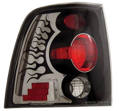 Headlights & Tail Lights - Tail Lights - Anzo - Ford Expedition Anzo Taillights - Black - 211054