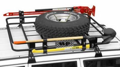 SUV Truck Accessories - Cargo Racks - Warrior - Jeep CJ7 Warrior Safari Roof Rack - Soft Top - Foldable - 856
