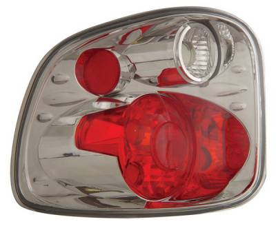 Headlights & Tail Lights - Tail Lights - Anzo - Ford F-Series Anzo Taillights - Version 2 - Chrome - 211068