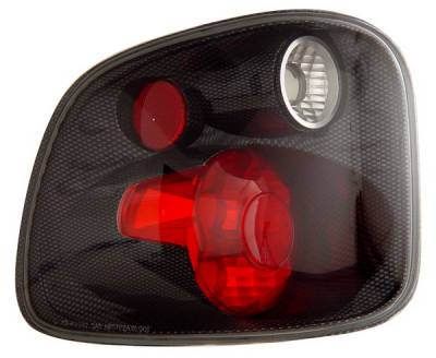 Headlights & Tail Lights - Tail Lights - Anzo - Ford F-Series Anzo Taillights - Version 2 - Carbon - 211070