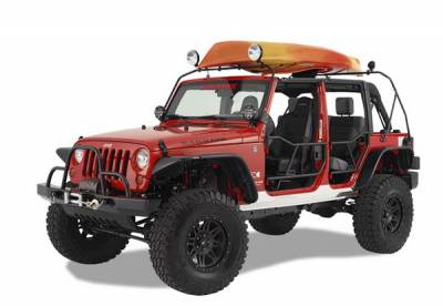 Suv Truck Accessories - Cargo Racks - Warrior - Jeep Wrangler Warrior Safari Water Craft Rack - 878