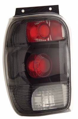 Headlights & Tail Lights - Tail Lights - Anzo - Ford Explorer Anzo Taillights - Carbon - 211083