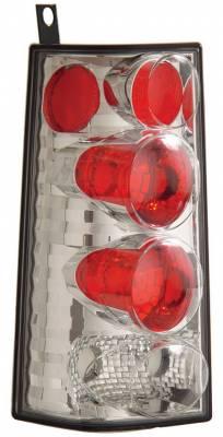 Headlights & Tail Lights - Tail Lights - Anzo - GMC Savana Anzo Taillights - Chrome - 211088