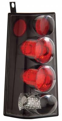 Headlights & Tail Lights - Tail Lights - Anzo - GMC Savana Anzo Taillights - Black - 211090