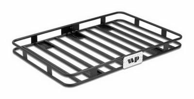 SUV Truck Accessories - Cargo Racks - Warrior - Jeep Warrior Outback Cargo Rack Mounting Kit - 4PC