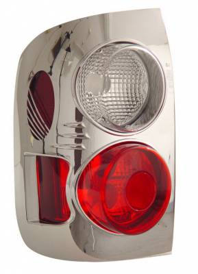 Headlights & Tail Lights - Tail Lights - Anzo - Infiniti QX-4 Anzo Taillights - Chrome - 211096