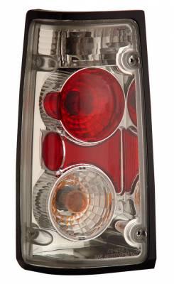 Headlights & Tail Lights - Tail Lights - Anzo - Isuzu Rodeo Anzo Taillights - Chrome - 211098