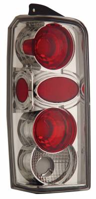 Headlights & Tail Lights - Tail Lights - Anzo - Jeep Cherokee Anzo Taillights - Chrome - 211101