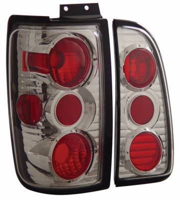 Headlights & Tail Lights - Tail Lights - Anzo - Lincoln Navigator Anzo Taillights - Chrome - 211109