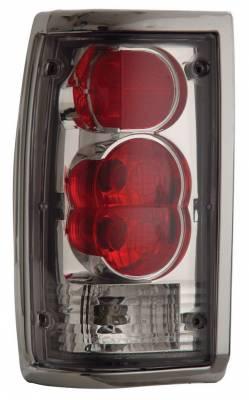 Headlights & Tail Lights - Tail Lights - Anzo - Mazda B2000 Anzo Taillights - Chrome - 211111