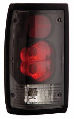 Headlights & Tail Lights - Tail Lights - Anzo - Mazda B2000 Anzo Taillights - Black - 211113