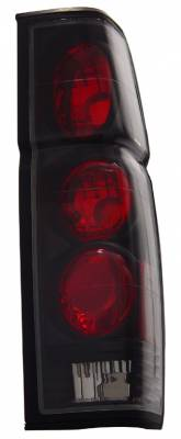 Headlights & Tail Lights - Tail Lights - Anzo - Nissan Pickup Anzo Taillights - Black - 211118
