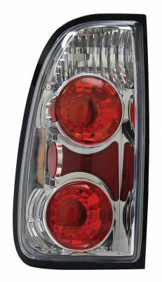 Headlights & Tail Lights - Tail Lights - Anzo - Toyota Tundra Anzo Taillights - Chrome - 211125