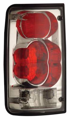 Headlights & Tail Lights - Tail Lights - Anzo - Toyota Pickup Anzo Taillights - Red & Clear - 211130