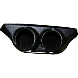 Car Interior - Gauges - Bully Dog - Ford Superduty Bully Dog Triple Gauge Mount - Overhead Rear View Mirror - Paintable - 30504