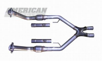 Bassani - Ford Mustang Bassani Catted X-pipe - 31100