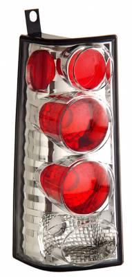 Headlights & Tail Lights - Tail Lights - Anzo - GMC Savana Anzo Taillights - Chrome - 211147