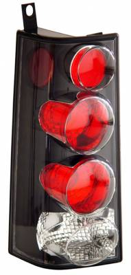 Headlights & Tail Lights - Tail Lights - Anzo - GMC Savana Anzo Taillights - Black - 211148
