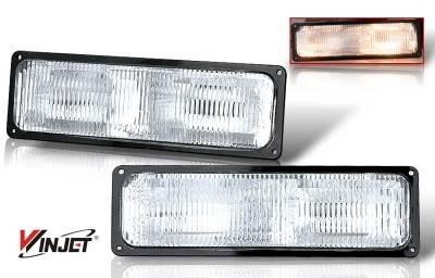 Headlights & Tail Lights - Corner Lights - WinJet - Chevrolet Tahoe WinJet OEM Parking Light - WJ30-0056-09