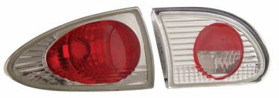 Headlights & Tail Lights - Tail Lights - Anzo - Chevrolet Cavalier Anzo Taillights - Chrome - 221009