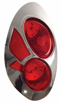 Headlights & Tail Lights - Tail Lights - Anzo - Chrysler PT Cruiser Anzo Taillights - Chrome - 221014
